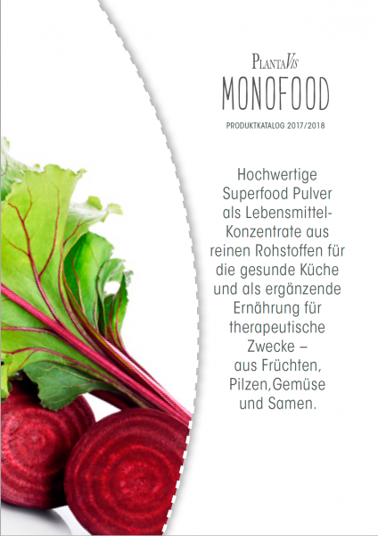 MonoFood Katalog 08/2018