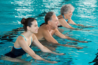 Arthrose Aquajogging